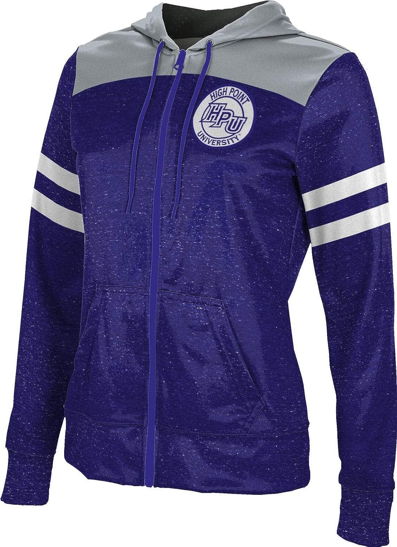 High Point University Girls' Zipper Hoodie, School Spirit Sweatshirt (Gameday)