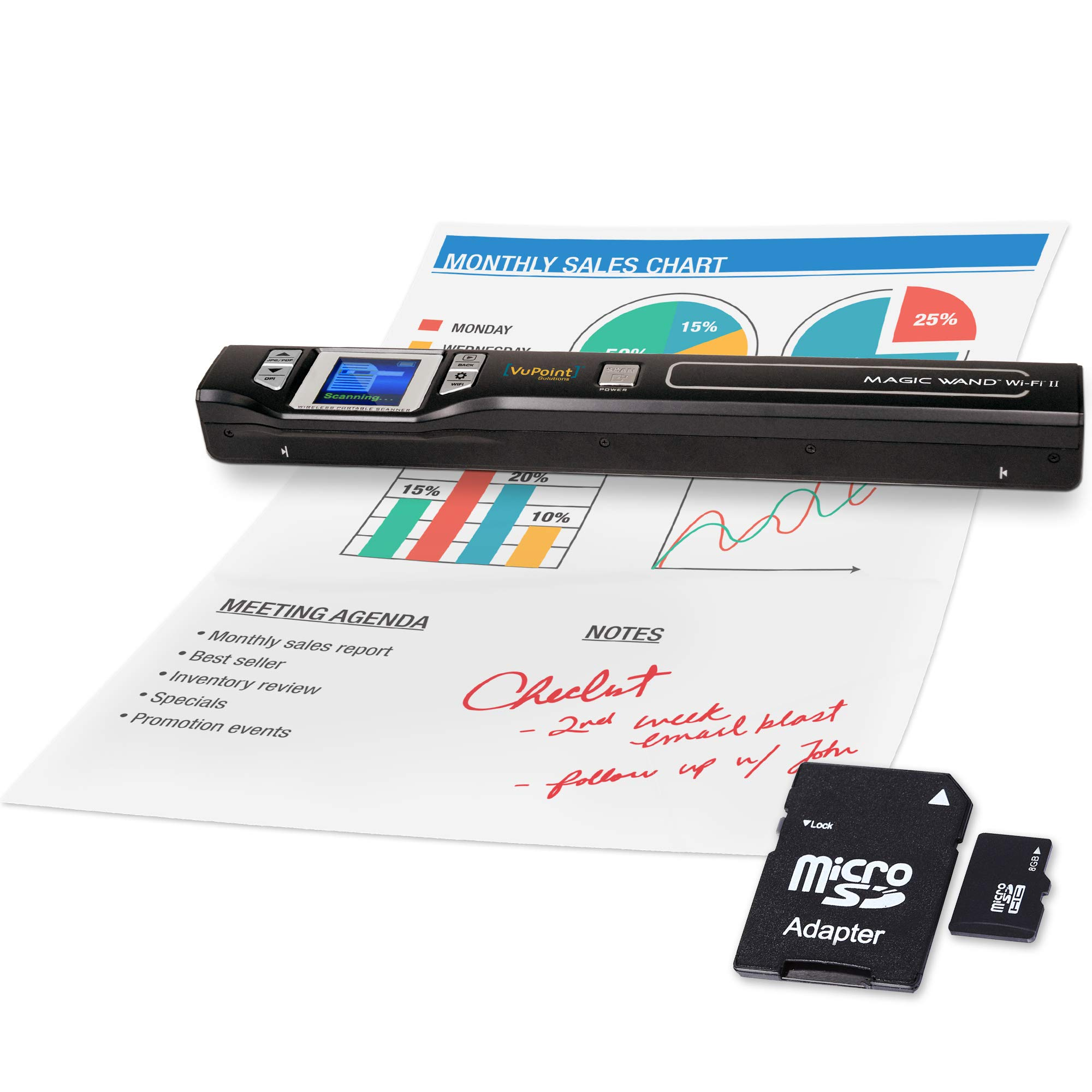 VuPoint Portable Scanner Rechargeable Battery