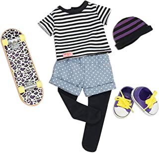 """Our Generation- That's How I Roll- Skater Outfit for 18"""" dolls"""