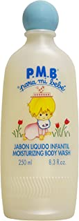 P.M.B. para mi bebe Jabon Liquido Infantil Moisuturizing Body Wash 8.3 oz 250 ml