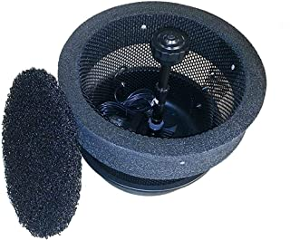 Custom Pro 3000 FLOATING POND FOUNTAIN/AERATOR with Multi Tier Nozzle, Pump, 24 Inch Diameter Float, 25 Foot Power Cord and More