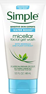 Simple Water Boost Micellar Facial Gel Wash, 148ml