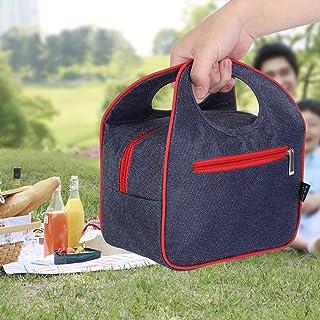 بطانة مقاومة للتسرب من قماش أكسفورد حقيبة غداء للنزهات لمزيد من المتانة لحقيبة حاوية الغداء أثناء السفر