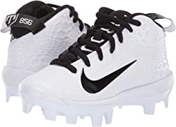 b0c2d29fe84 Nike kids vapor ultrafly pro mcs bg baseball big kid white black ...
