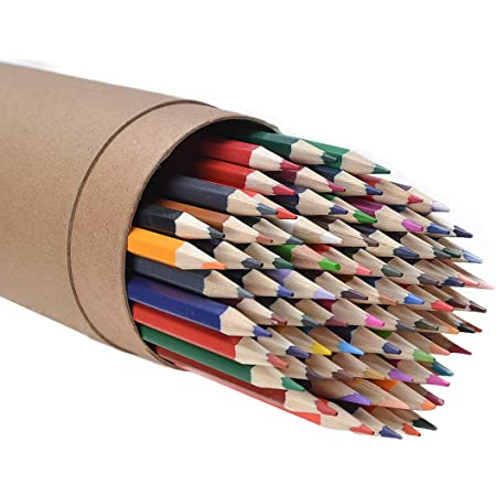 CYPER TOP 80-color Colored Pencils Set for Adults and Kids, Drawing Pencils for Sketch, Arts, Adult Coloring Books