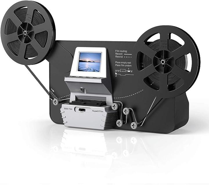 Scanner e digitalizzatore di film con lcd da 2,4