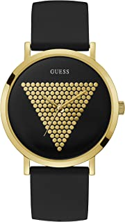 Guess Womens Quartz Watch, Analog Display and Silicone Strap W1161G1