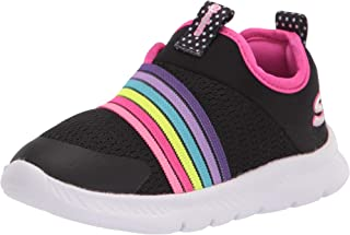 Skechers Unisex-Child Sport, Mahine Washable, Girls Slip-on Sneaker