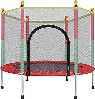 trampoline 140 cm - red