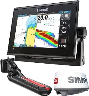 Simrad GO9 XSE MFD TotalScan/Radar Bundle