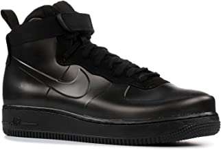 Nike Air Force 1 Foamposite Cup Mens Fashion Sneakers (15 D(M) US) Black/Black/Black