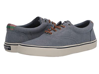 Sperry Striper II CVO Distressed (Blue) Men