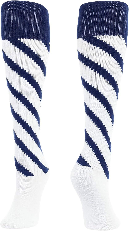 Candy Stripe Knee High Softball Socks Soccer