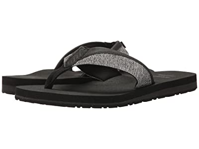 TOMS Santiago Flip Flop (Forged Iron Grey Space-Dye) Men