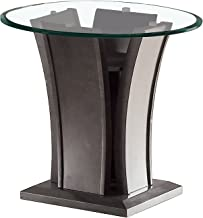 HOMES: Inside + Out Corrie End Table, Gray
