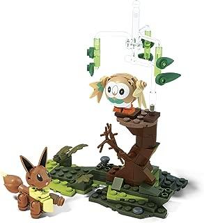 Mega Construx Pokemon Rowlet Vs. Eevee Building Set