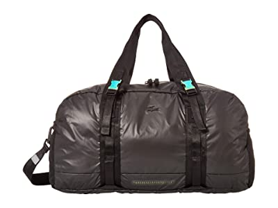 Lacoste Altitude Nylon Roll Bag (Black) Duffel Bags