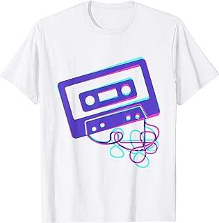 Cassette Tape Costume 80s 90s eighties nineties Retro Shirt