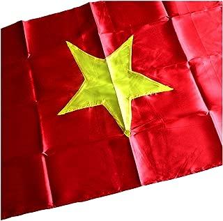 Terrapin Trading Ltd Fair Trade Large Vietnam Vietnamese Flag Communist Star - 2 Sizes