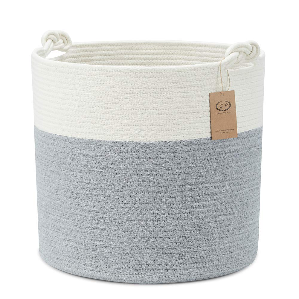 Extra Large Cotton Rope Basket 18