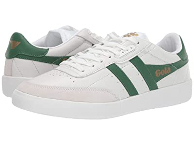 Gola Inca Leather (White/Green) Men