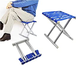 ADTALA Folding Dtool Chair (aluminum with nylon, Blue)