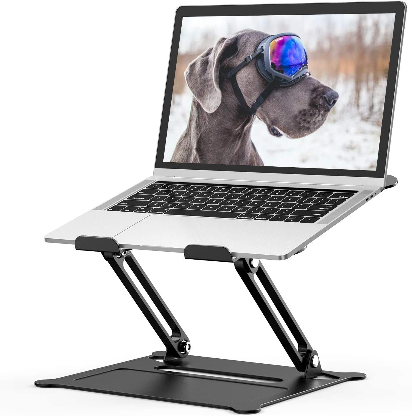 Adjustable Laptop Be super welcome Stand Aluminum Stan Riser Computer Clearance SALE Limited time Multi-Angle