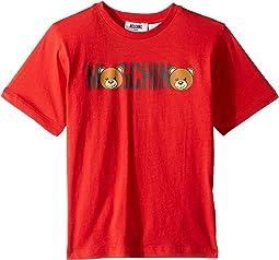 T-Shirt w/ Toy Bear Font (Little Kids/Big Kids)