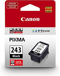 Canon PG-243 Black Ink Cartridge Compatible to iP2820 MX492, MG2420, MG2520, MG2920, MG2922, MG2924 MG3020, MG2525, TS3120, TS302, TS202 and TR4520