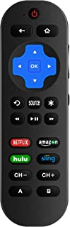Best Universal Remote Control Compatible with Roku Player With 9 More Learning Keys to Control TV Soundbar Receiver All in One (Fit For Roku 1 2 3 4 Premier+ Express Ultra)【NOT FOR Roku STICK 】 Review