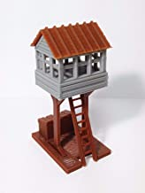 Outland Models Train Railway Layout Trackside Watch / Signal Tower HO Scale 1:87