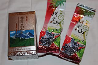 2 X 4 Oz (140 g) vacuum sealed bag of Taiwan Alishan (Ali-Shan Mountain) Spring New Leaf Green Tea - Taiwan High Mountain Grown Tea Premium Quality Oolong Tea.