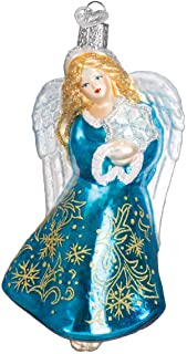 Best Old World Christmas Angel Collection Glass Blown Ornaments for Christmas Tree Glistening Snowflake Review