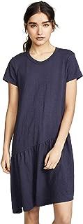 Women's Slant Hem T Shirt Dress