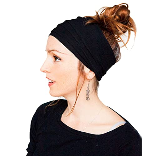 Butterme Womens Fashion Pleated Nonslip Headband Headwrap Hairband Hair  Accessories Solid Color for Workout Crossfit Yoga 03a2e63d5d
