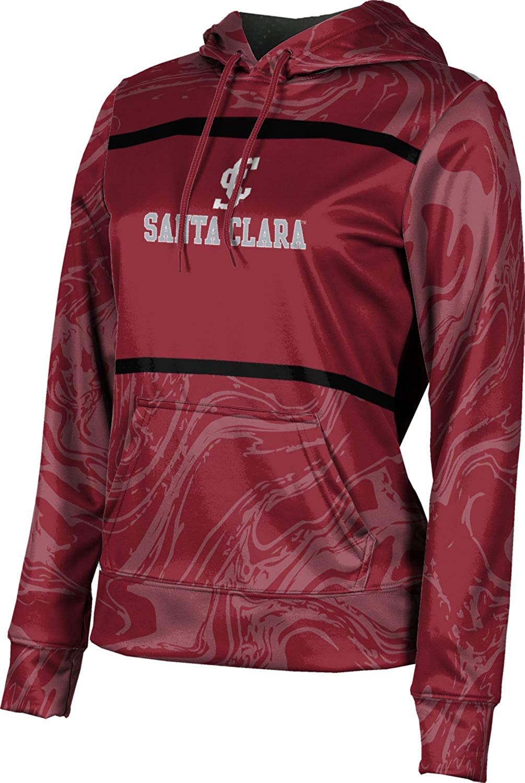 ProSphere Santa Clara University Girls' Pullover Hoodie, School Spirit Sweatshirt (Ripple)