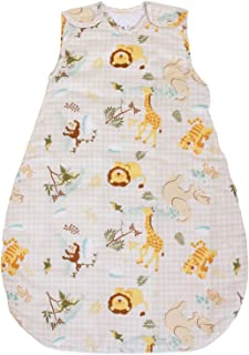 Baby Sleeping Bag with Animal Pattern, 2.5 Tog's Quilted Winter Model (Medium (10-24 mos))