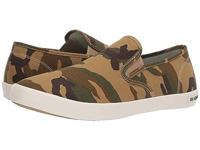 SeaVees Baja Slip-On Ripstop (Field Tan Camouflage) Men