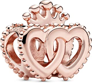 Pandora Rose United Regal Hearts Charm