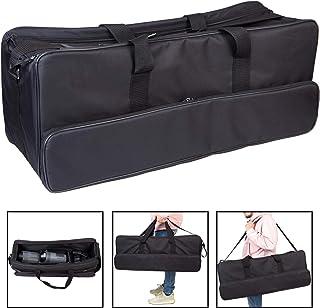 Gran foto estudio Iluminación equipo bolsa de transporte 80 x 30 x 32 cm con correa de nylon reforzado y bolsa lateral par...