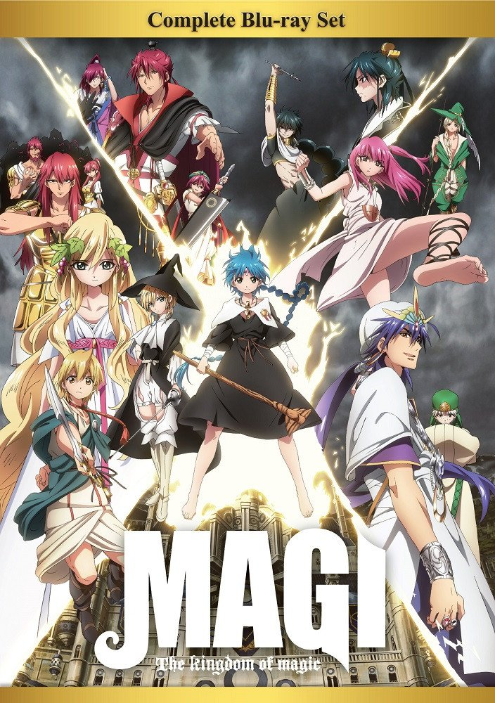 Ranking TOP19 Magi The Kingdom of Magic Max 55% OFF Blu-ray Box Set Complete