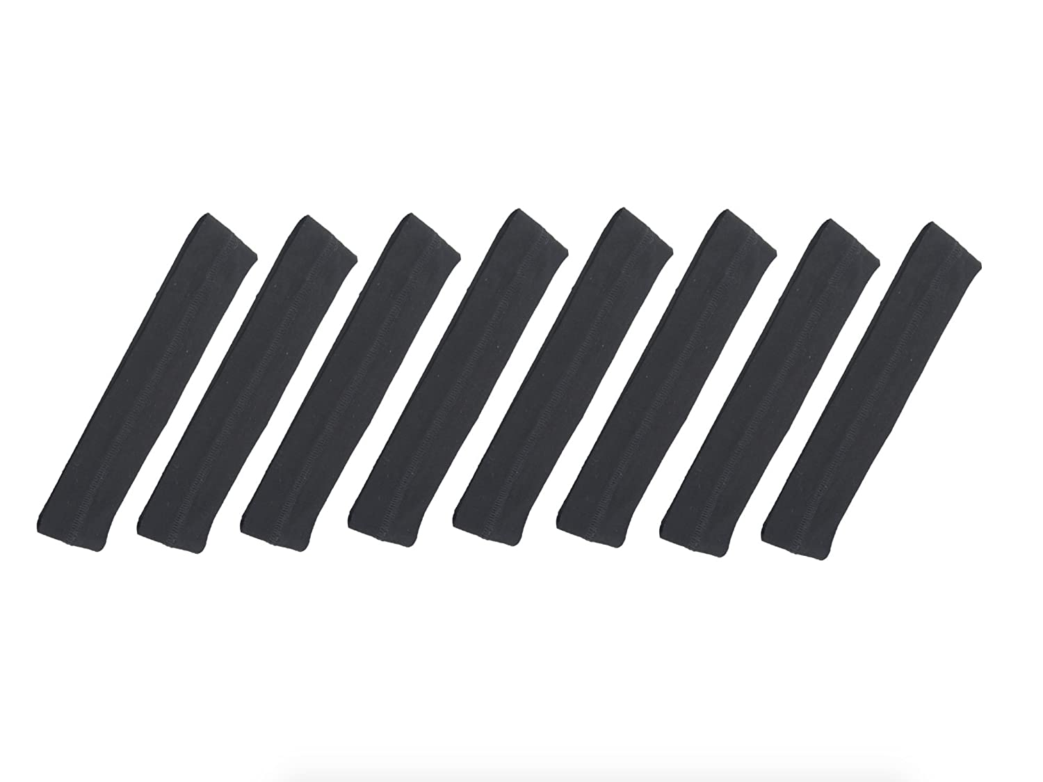 8-Pack Bamboo/Cotton Headband - Ideal to Hold Bangs and Unruly Frizzy Hair - Stays in Place, Super Cute