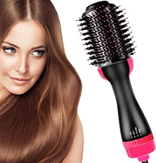 Mclaurin Hair Air Brush,3 in 1 Hot Air Brush Styler and Dryer,One Step & Volumizer Brush Blow Dryer Styler for Rotating St...