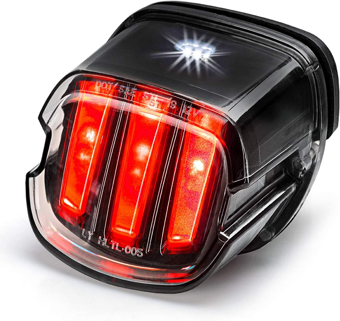 Tail Light for Excellence Harley 55% OFF Eagle Claw Brake Design Approved Run DOT