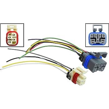 Amazon.com: ICT Billet Transmission Pigtail Kit Neutral Safety Reverse  Light Range PRNDL Sensor Switch Connector 7-wire 4-wire Compatible with GM  4-speed Automatic 1995 to 2004 4L60e 4L80e WPTRK30: AutomotiveAmazon.com
