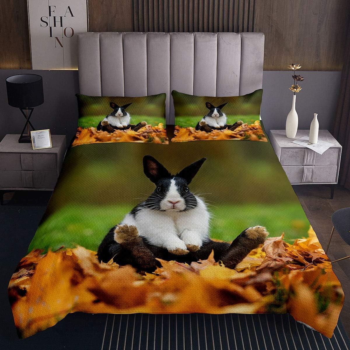 Erosebridal Kids Rabbit Bedding Soldering Set for Ra Lady Long-awaited Cute Girls Child
