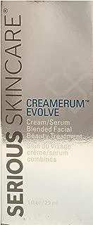 Serious Skincare Creamerum Evolve Cream/serum Blended Facial Beauty Treatment 1 Fl Oz