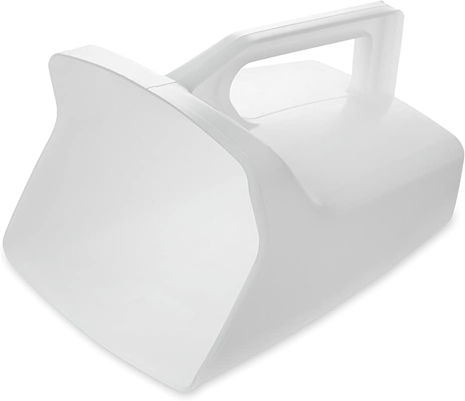 Rubbermaid Commercial Products Clear Bouncer Utility Scoop 64 Ounce Clear FG288500WHT Pack Of 6