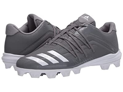 adidas Afterburner 6 MD (Grey Four F17/Footwear White/Grey Three F17) Men