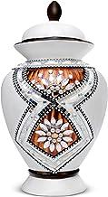 Saikirra Urns for Human Ashes – Urn I Cremation Urns for Human Ashes Adult I Large Handmade Decorative Ceramic Urn I Large...